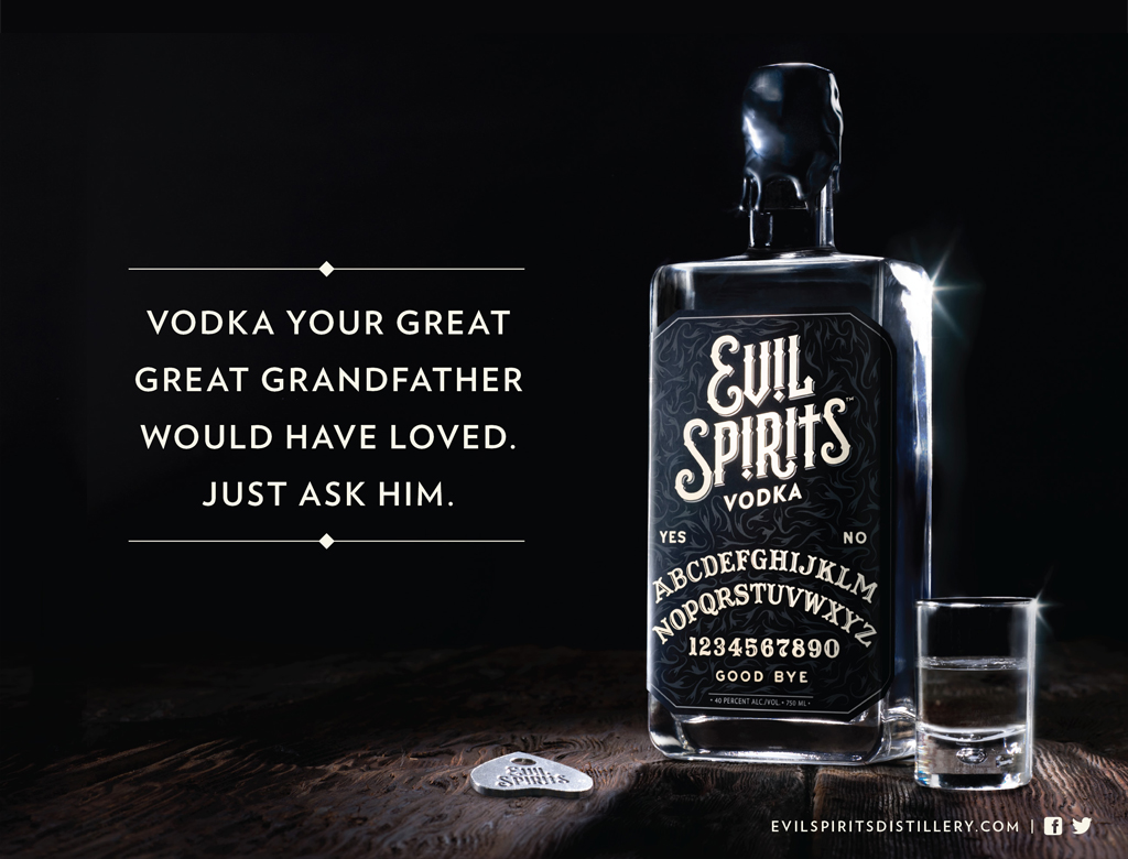 Evil Spirits Ad