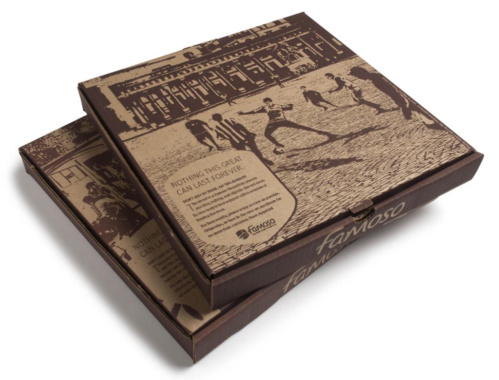 Famoso Pizza Boxes