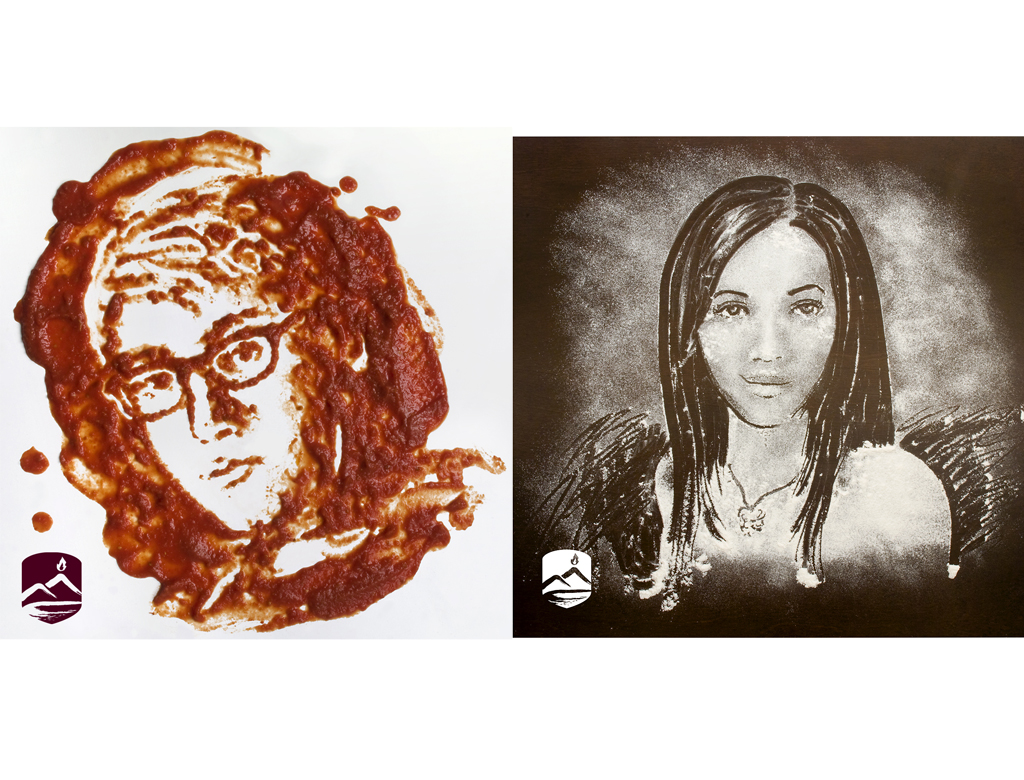 Famoso Ingredient Portraits