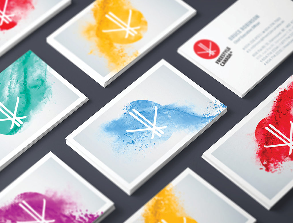Freestyle Canada Business Cards