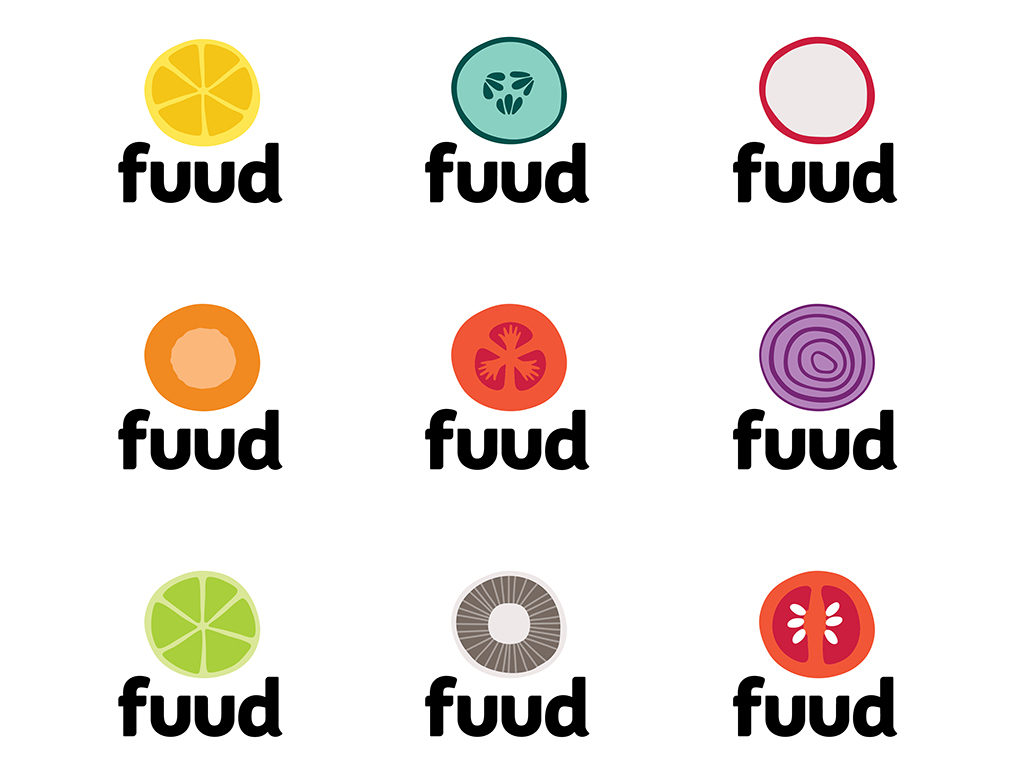 Fuud logos various